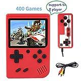 Consola de Juegos Portátil, Consola de Juegos 3 Pulgadas 400 Juegos Retro FC Game Player Consola de Juegos...