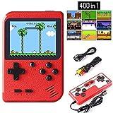 ETPARK Consola de Juegos Portátil, 400 Juegos Retro 2.8 Pulgadas Pantalla a Color Soporte para Jugadores...