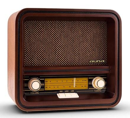 Sintonizador de Radio Auna Belle Epoque 1901