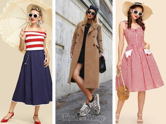 Accesorios de Moda vintage y retro