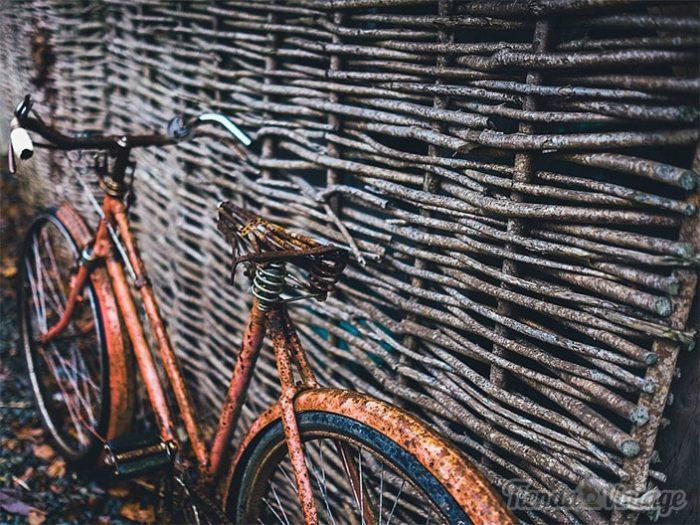 Bicicleta Apariencia Vintage