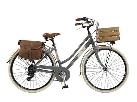 Bicicleta de paseo de mujer vintage
