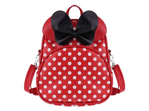 Mochila pin up de lunares