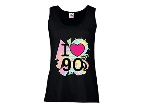 Camiseta retro 'I love 90s'