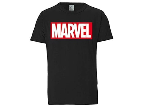 Camiseta retro logo Marvel