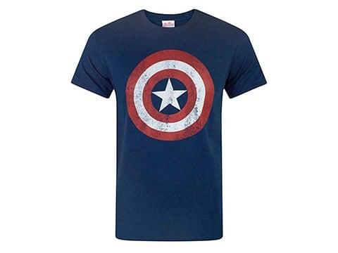 Camiseta retro Capitán América