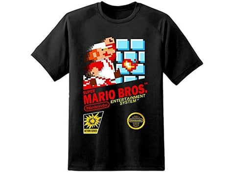 Camiseta retro Mario Bros.