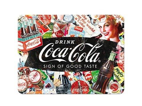 Cartel Coca-Cola vintage