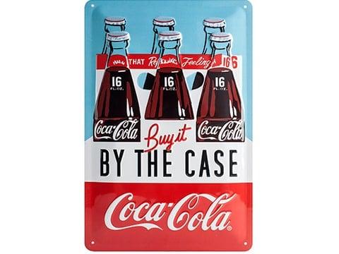 Cartel retro Coca-Cola
