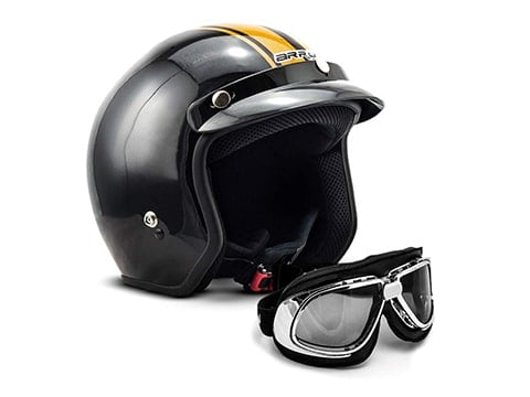 Casco vintage cafe racer