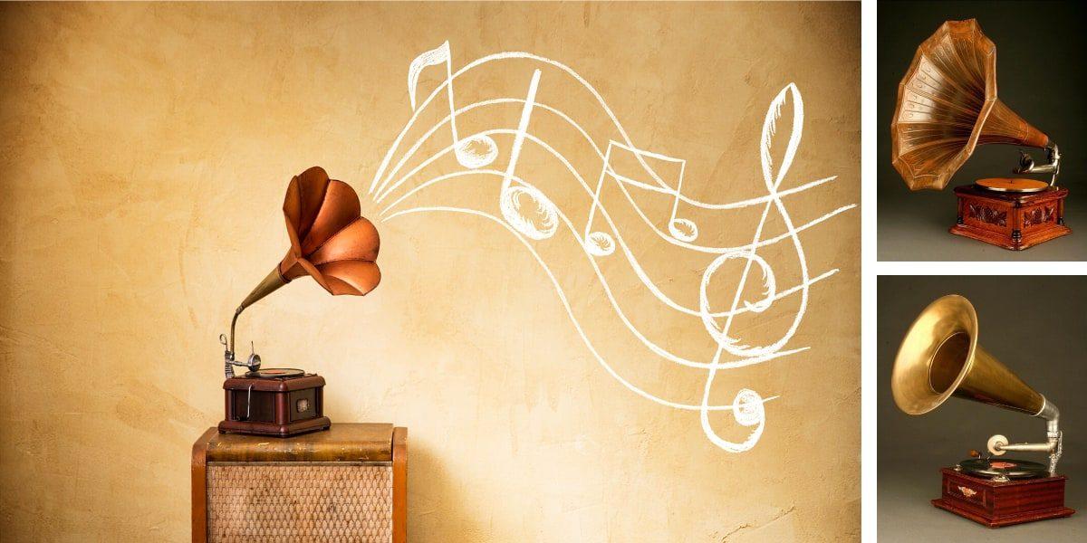 Gramofono vintage barato