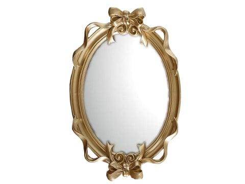 Espejo de cuento retro