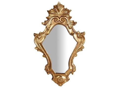 Espejo dorado clásico