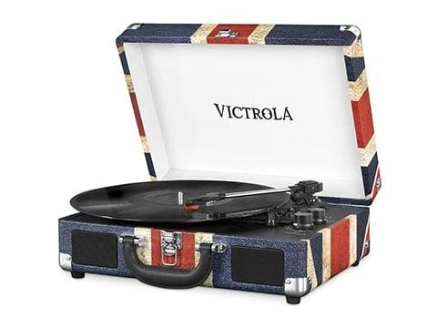 Giraplatos Victrola retro