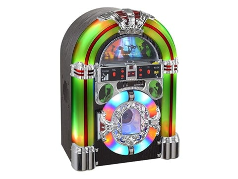 Jukebox tocadisco antiguo