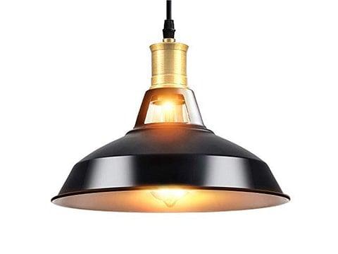 Lámpara colgante estilo industrial
