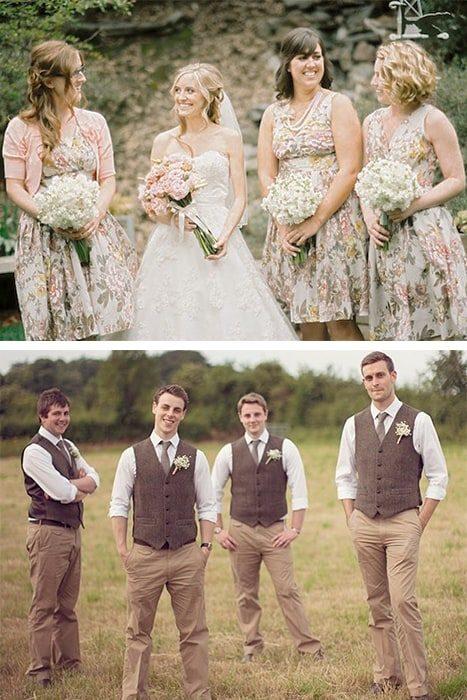 Vestidos invitados de boda vintage