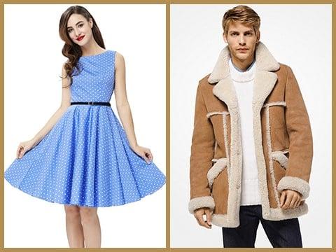 Vestimentas estilo vintage