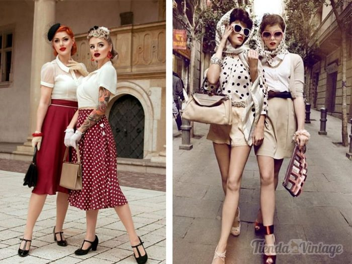 Mujeres con looks estilo pin up