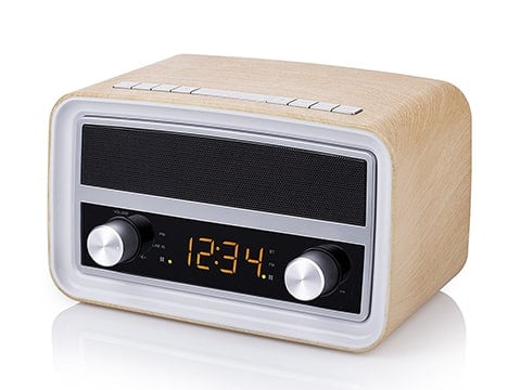 Radio estilo antiguo con Bluetooth