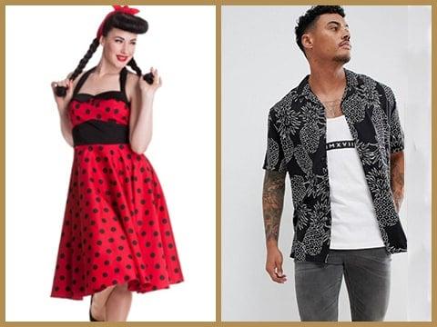 Prendas de Vestir estilo Vintage