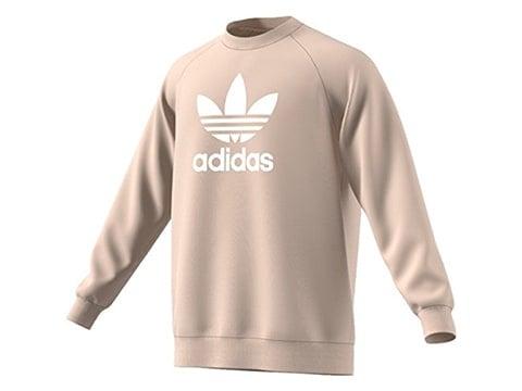 Sudadera retro Adidas con logo