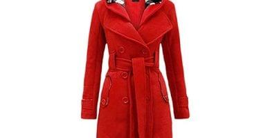 Abrigos vintage rojos
