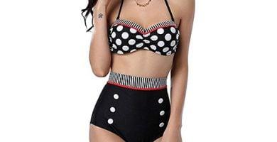 Bikini vintage con lunares