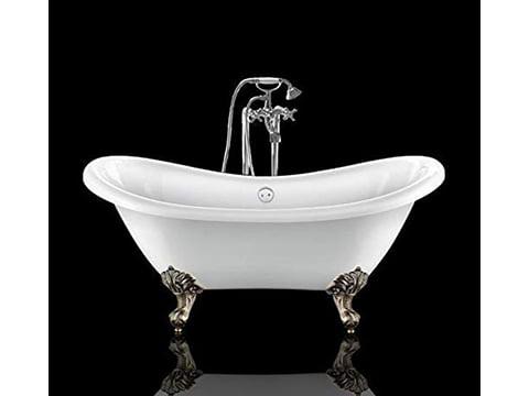 Bañera de pies vintage