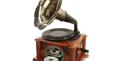 Gramófono vintage USB