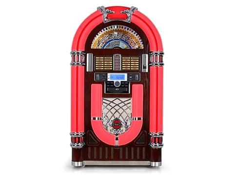 Jukebox años '50 rojo