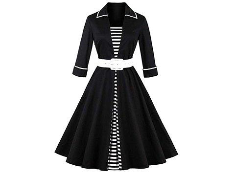 Vestido vintage de mujer