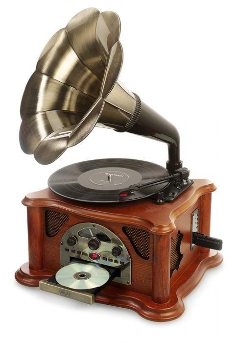 Gramófono vintage Ricatech RMC350