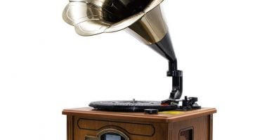 Gramófono Lauson CL147 - El Mejor Tocadiscos BT de 2021