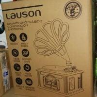 Gramófono Bluetooth Lauson