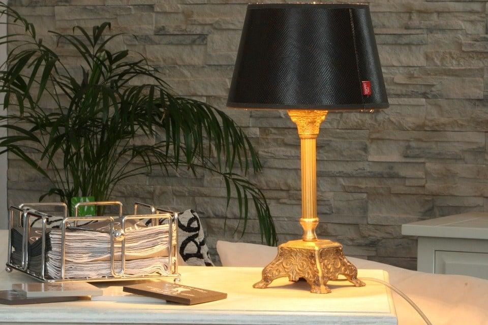 Lámpara para decorar salón vintage