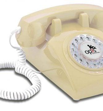 Teléfono retro-vintage