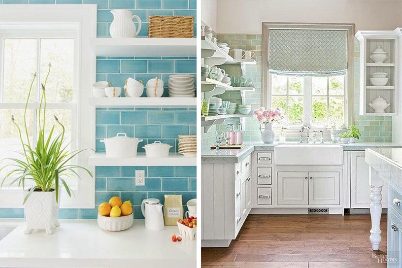Decorar cocina Vintage con azulejos