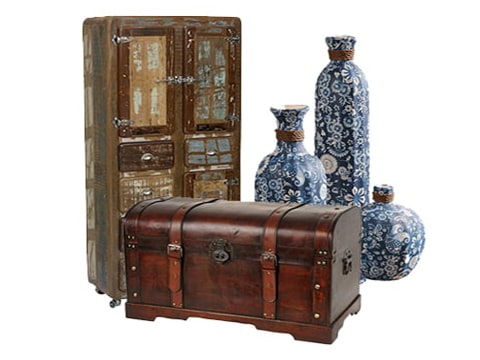 Adornos decorativos vintage
