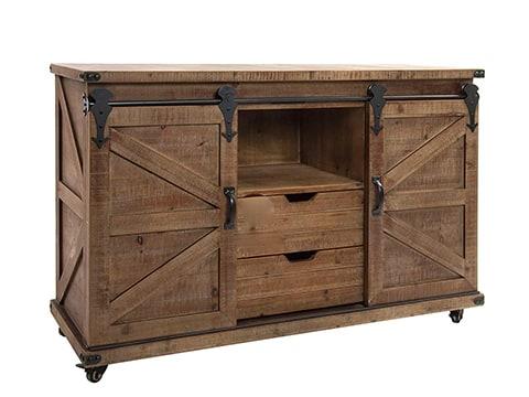 Mueble aparador estilo rústico