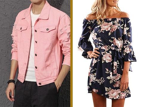 Selección vestidos y atavíos vintage