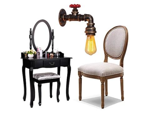 Muebles de diseño vintage