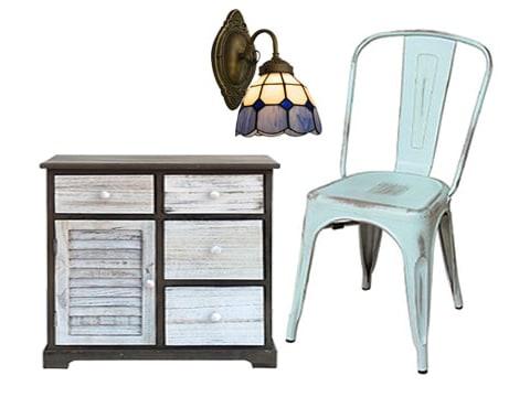 Muebles y adornos vintage