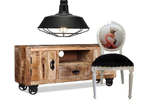 Mueble estilo vintage y retro