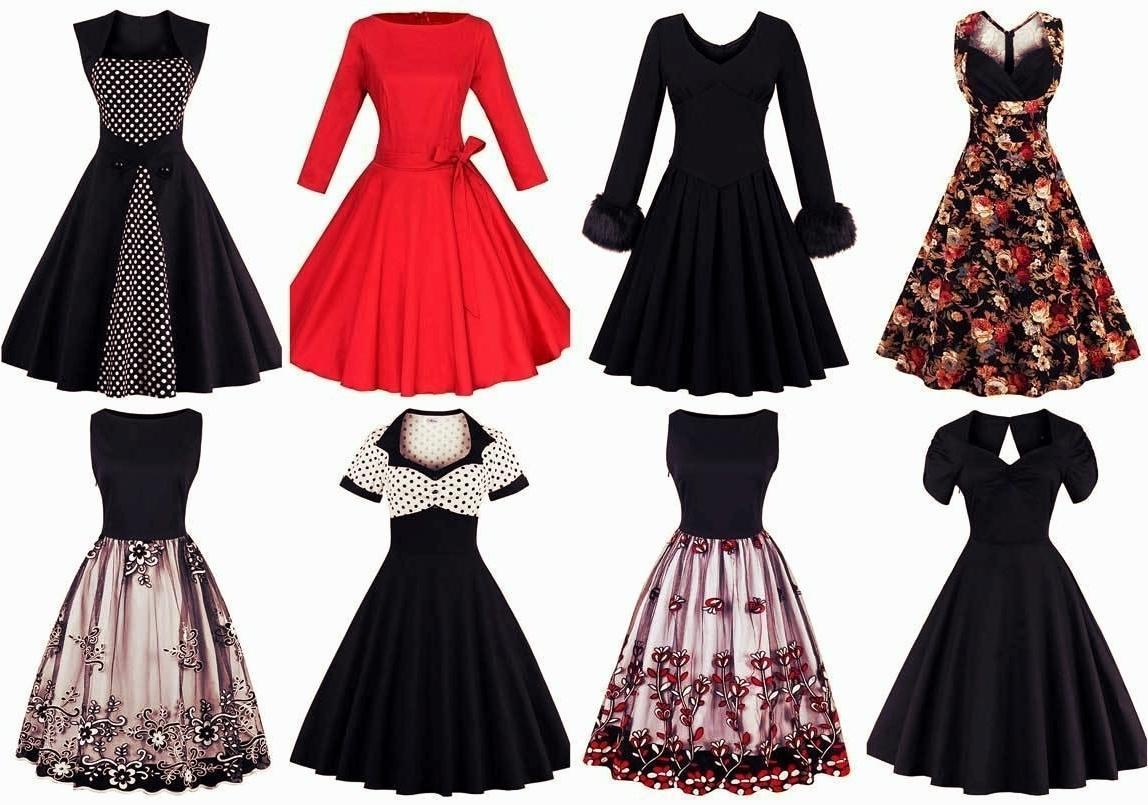 142c975dab33 Algo bastante sencillo, ya que en este estilo predominan los vestido con  vuelo y en el mundo vintage eso es toda una maravilla.
