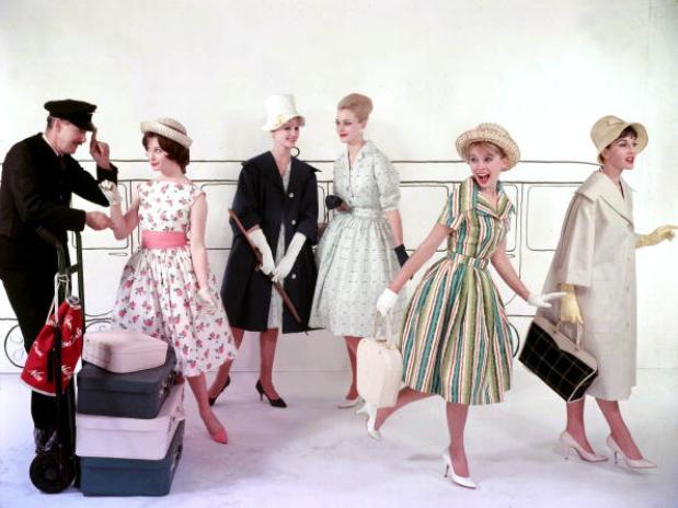 Historia de la moda de mujer en los años '50