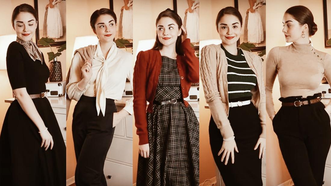 Cómo llevar un look retro con estilo
