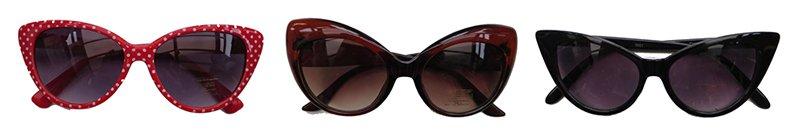 gafas de sol de los años 50