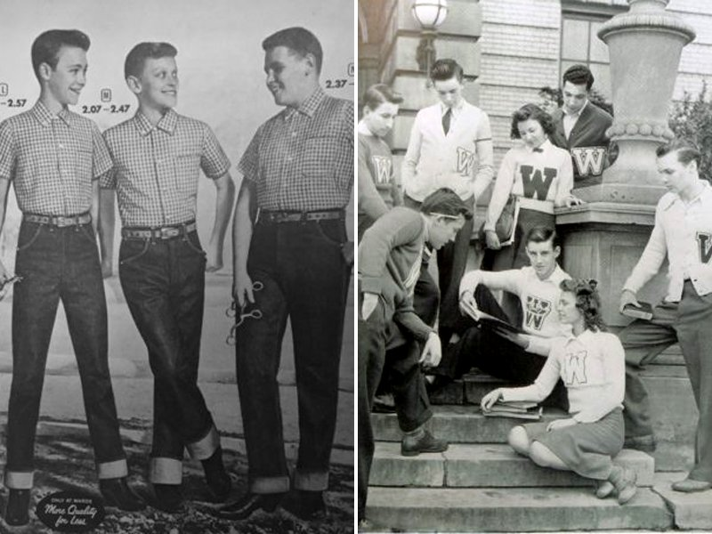 50s Teen Boy Fashion