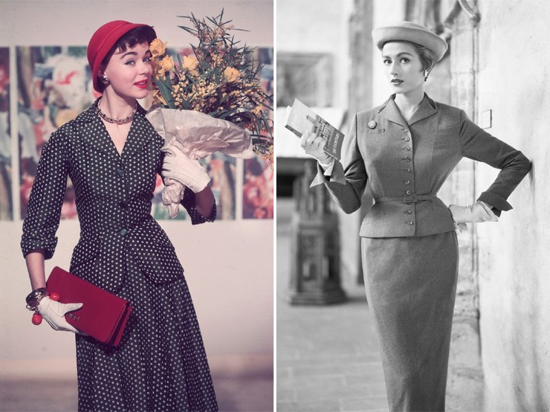 50s Womens Suits